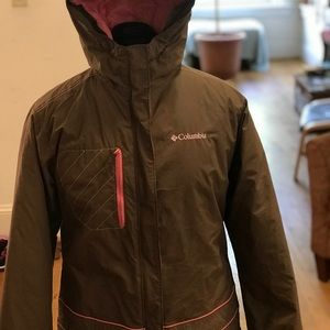 Columbia, youth winter jacket